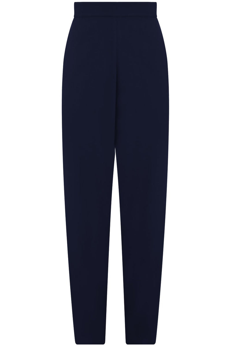 FLUID RELAXED SLIM LEG PANTS NAVY