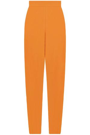 FLUID RELAXED SLIM LEG PANTS ORANGE