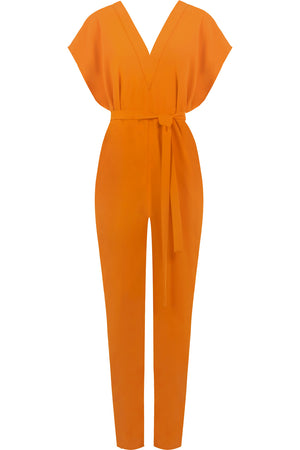 FLUID EASY V JUMPSUIT ORANGE