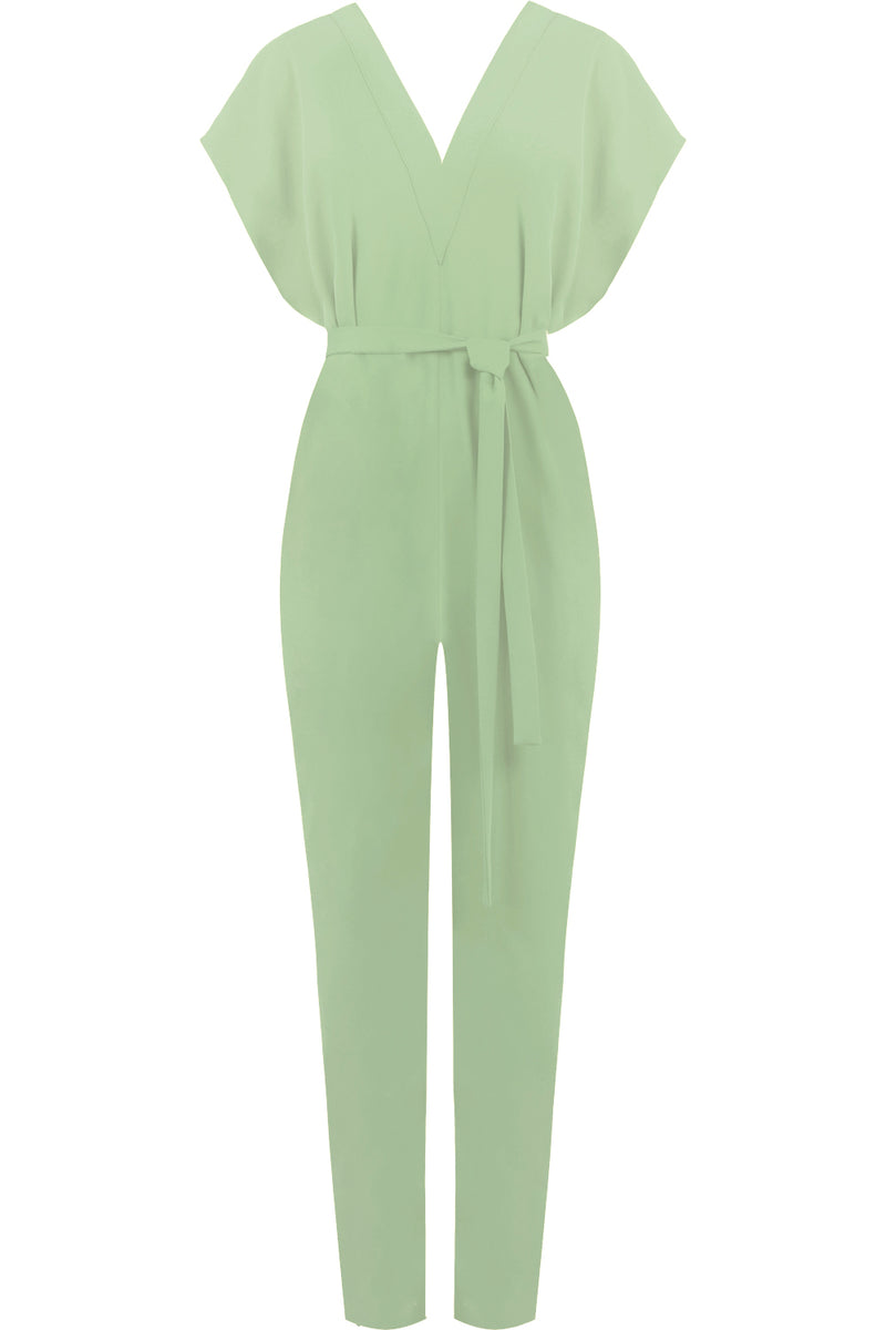FLUID EASY V JUMPSUIT SAGE