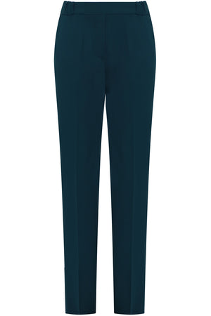 SLIM LEG PANTS DUCK GREEN