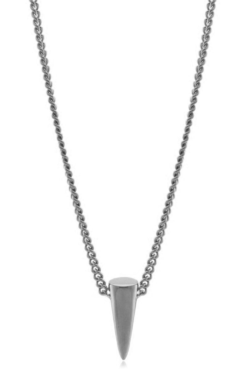 SINGLE POINT NECKLACE SILVER