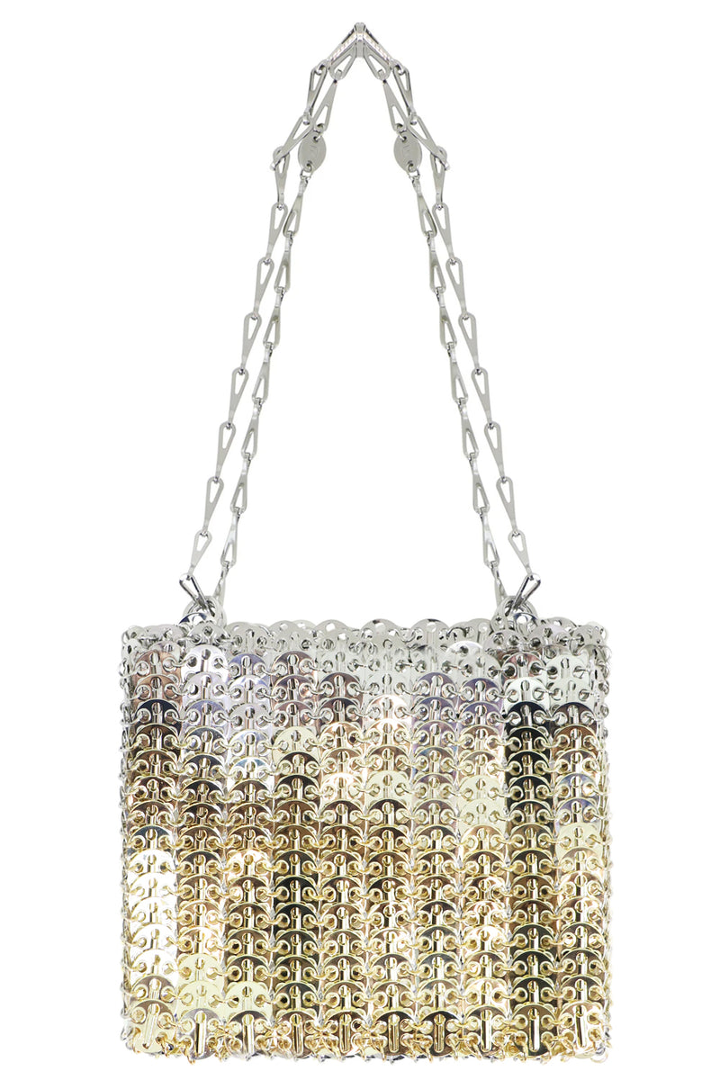 GRADIENT 1969 MESH DISC BAG SILVER/GOLD