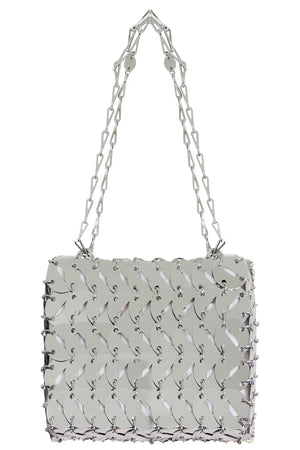 PERFORATED NANO 69 DISC BAG SILVER