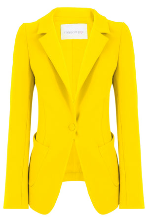 TISSUE PERFECT BLAZER SUNFLOWER