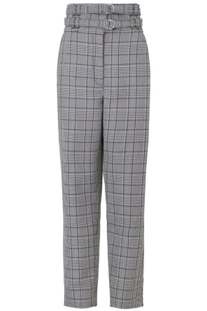 GLENCHECK TAILORED PANT BLACK/WHITE