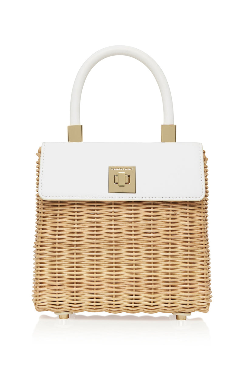 THE MEDIUM CLASSIC BAG WHITE