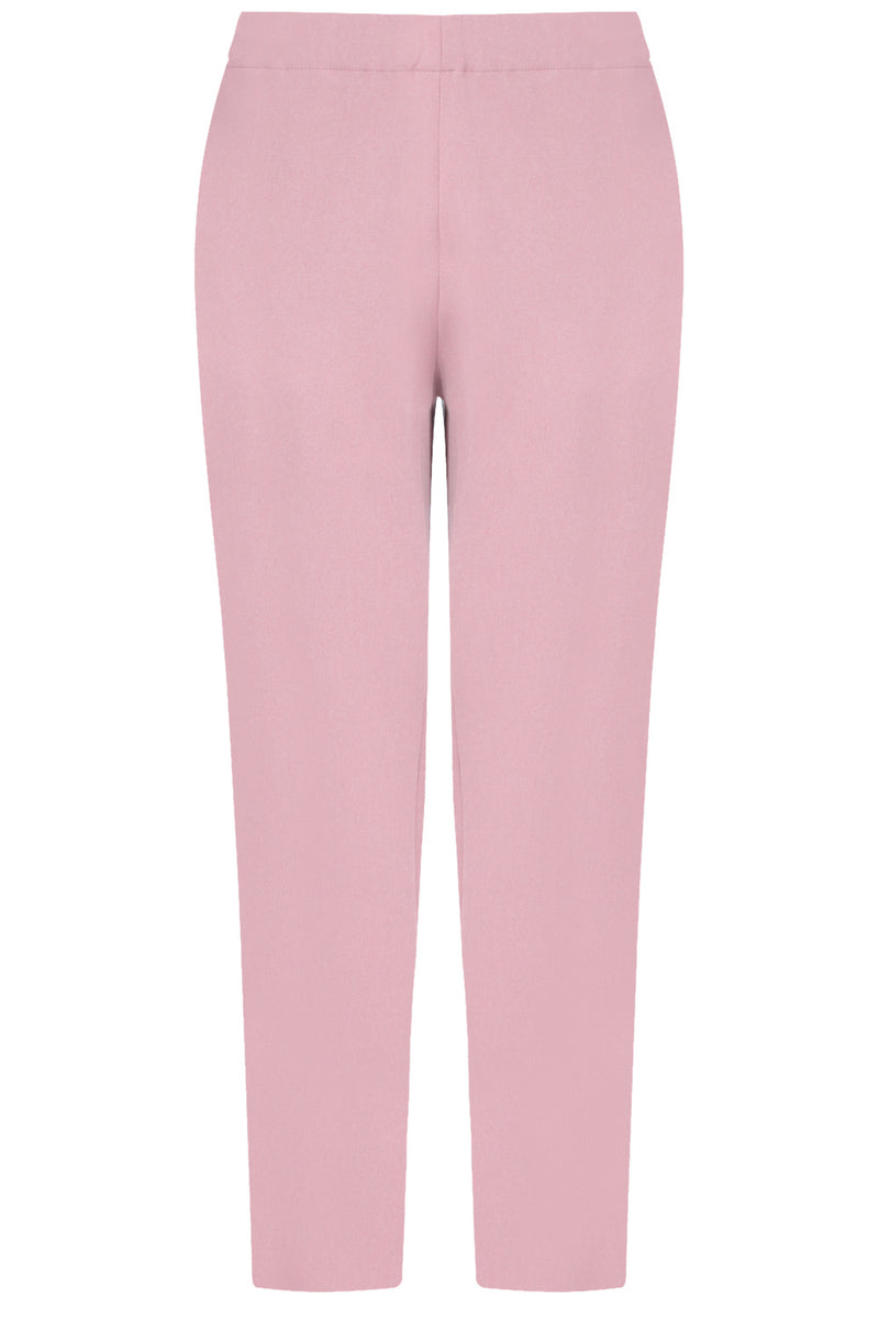 TISSUE NARROW CROP PANT PINK
