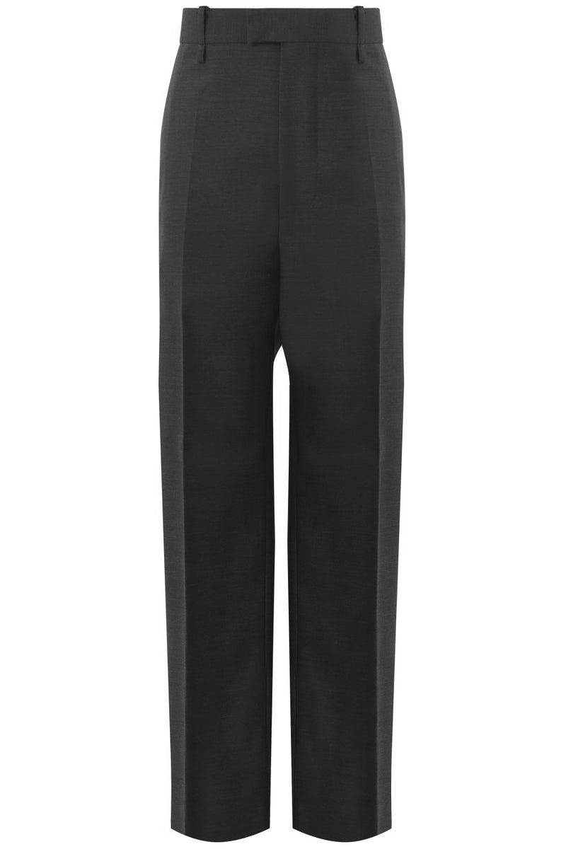 RELAXED FIT TROUSERS CHARCOAL