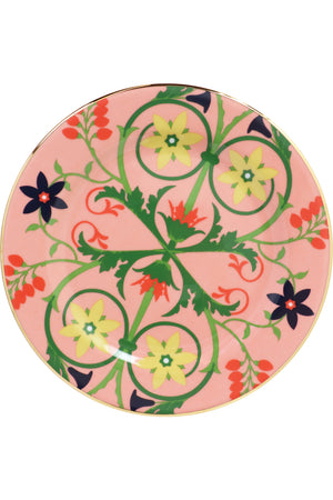 STELLA ALPINA DESSERT PLATES SET OF 2 PINK
