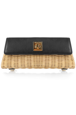 THE CROSSBODY CLUTCH BLACK