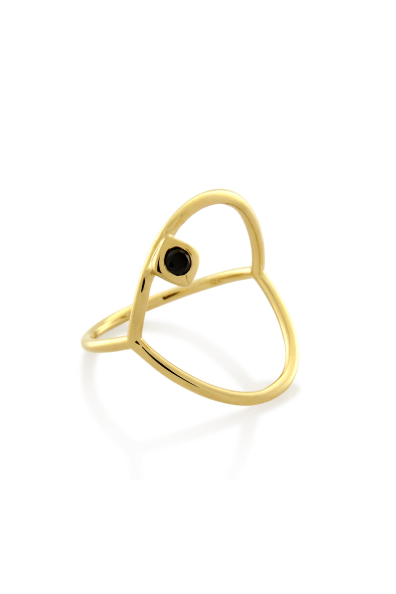 ACCENT CIRCLE RING GOLD