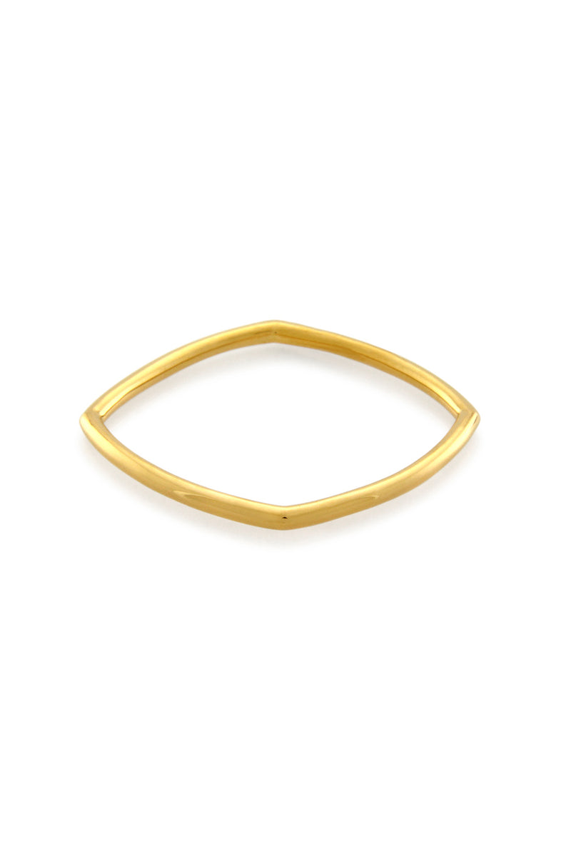 ACCENT THIN STACKING RING GOLD