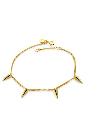 FOUR POINT BRACELET GOLD