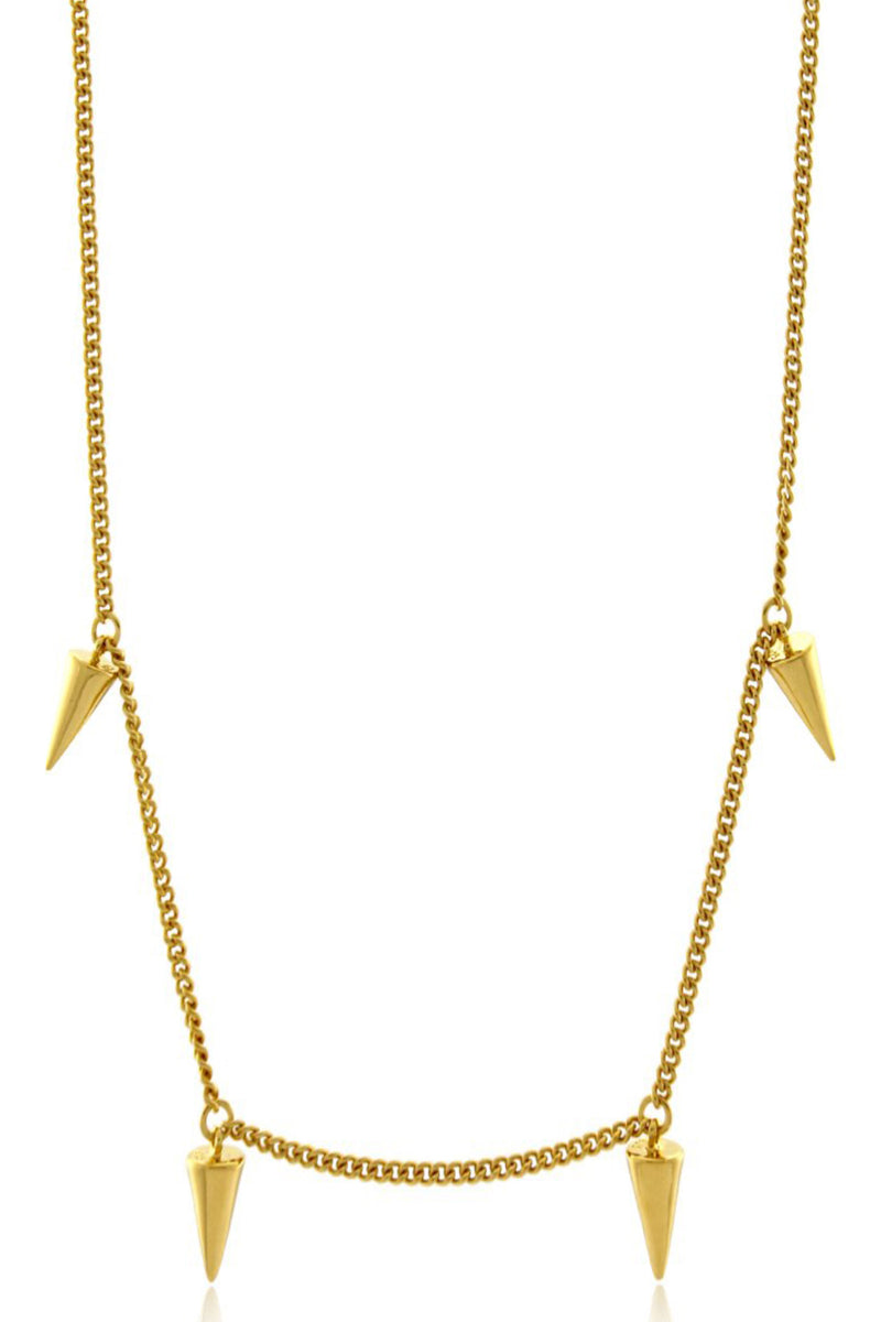 FOUR POINT NECKLACE GOLD