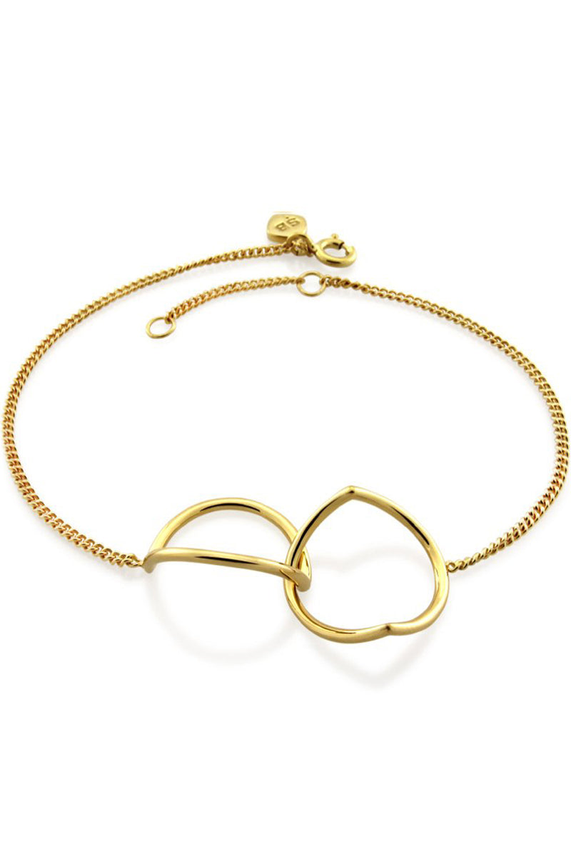 INVERTED ETERNITY BRACELET GOLD