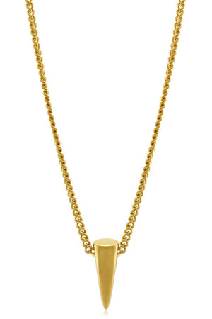 SINGLE POINT NECKLACE GOLD