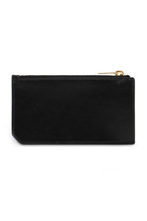 ZIPPED FRAGMENTS CARD CASE BLACK/GOLD