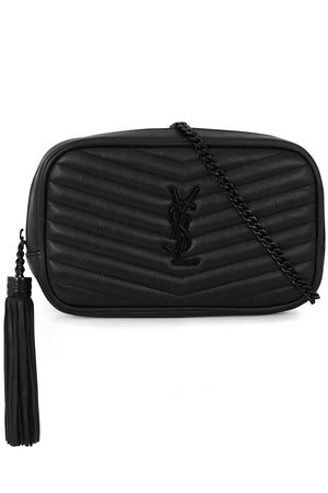LOU MINI QUILTED CAMERA BAG MATTE BLACK