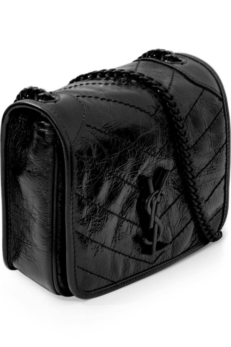 NIKI SMALL QUILTED BAG BLACK/BLACK