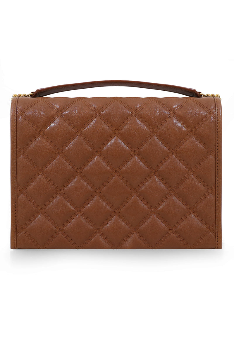 BECKY SMALL CHAIN BAG BRICK