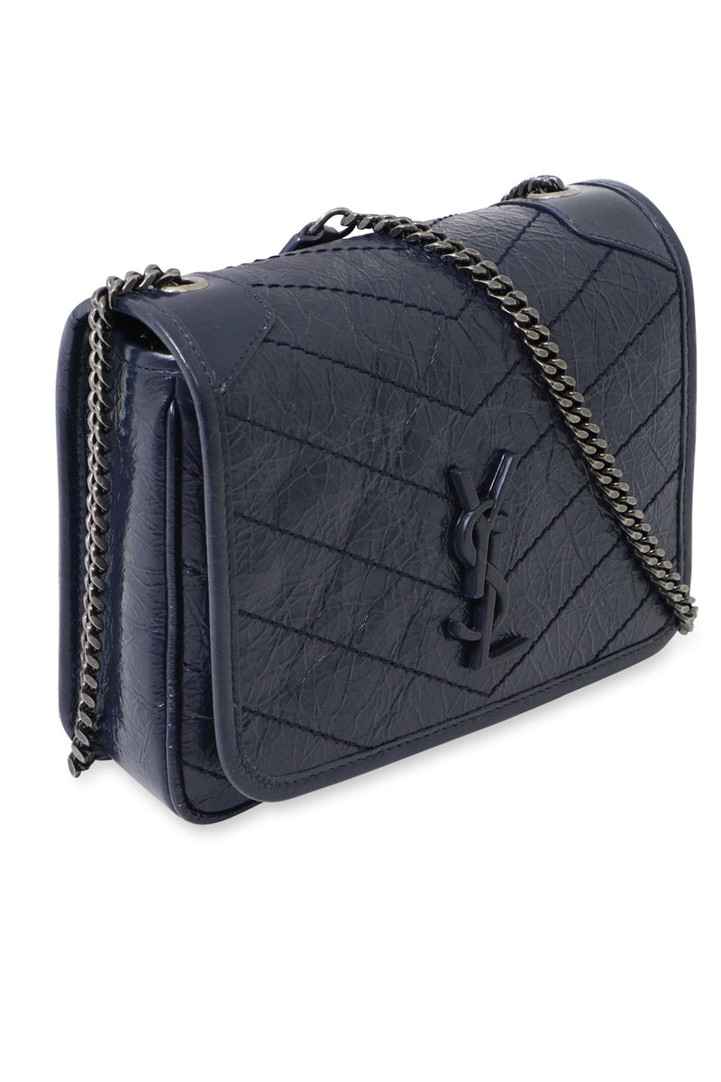 NIKI SMALL QUILTED BAG DEEP MARINE