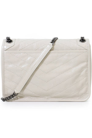 NIKI MEDIUM QUILTED BAG CREMA SOFT