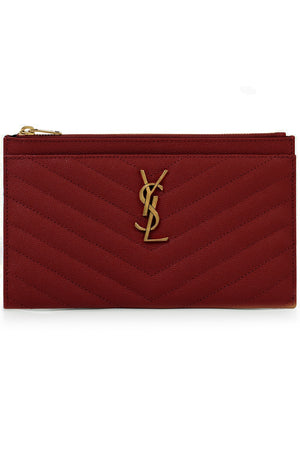 MONOGRAMME BILL POUCH OPYUM RED/GOLD