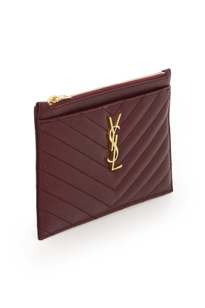 MONOGRAMME BILL POUCH RED/GOLD