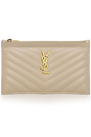 MONOGRAMME BILL POUCH SEA SALT/GOLD