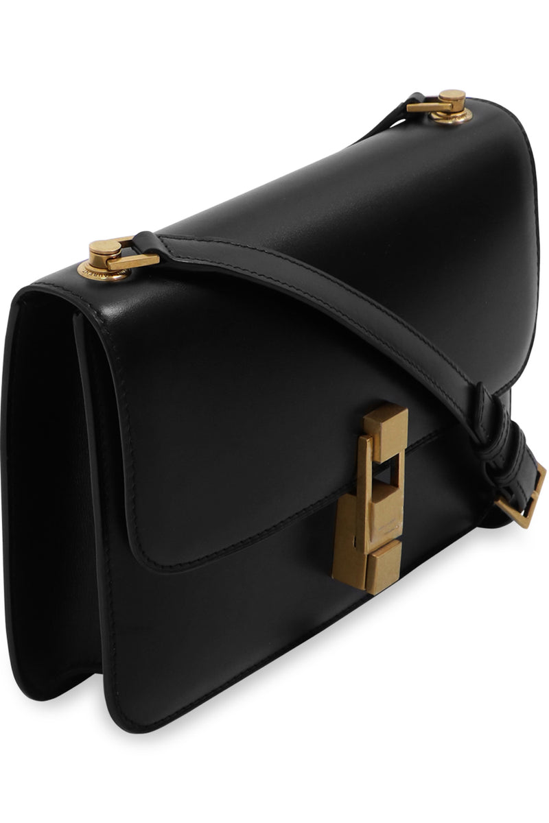 CARRE BOX BAG BLACK