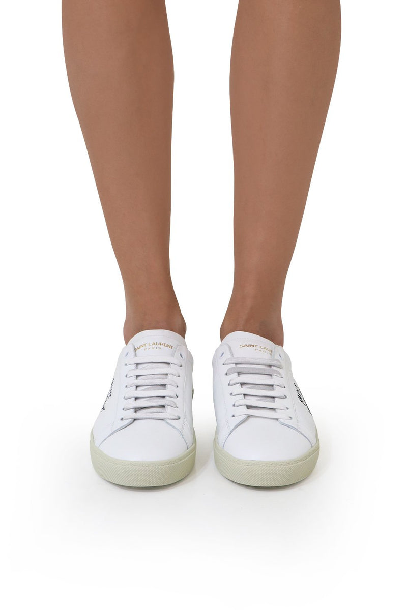 COURT CLASSIC LEATHER SNEAKER WHITE