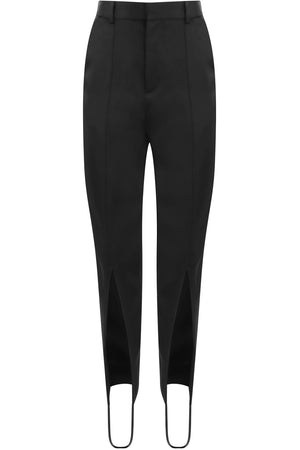TAILORED STIRRUP PANT BLACK