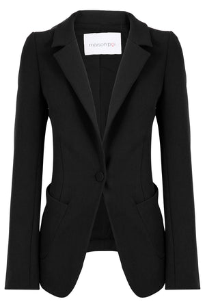 TISSUE PERFECT BLAZER BLACK