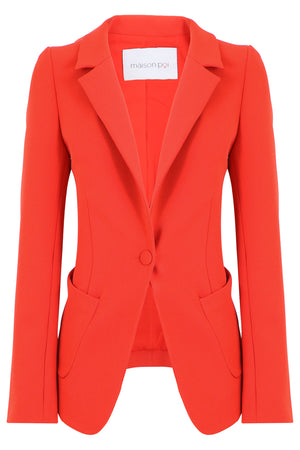 TISSUE PERFECT BLAZER RED