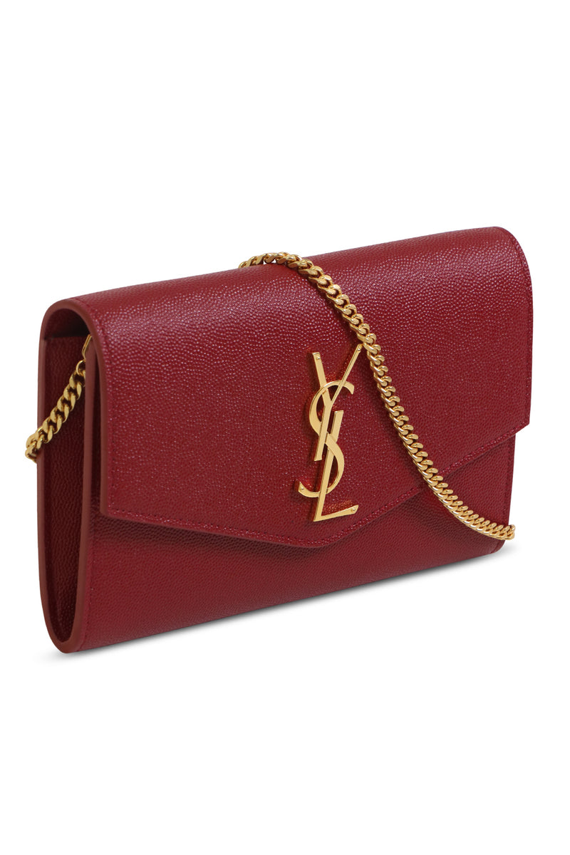 UPTOWN CHAIN WALLET OPYUM RED/GOLD