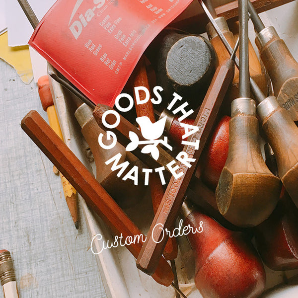 Goods that Matter - Custom orders eco friendly custom wholesale and fundraising products