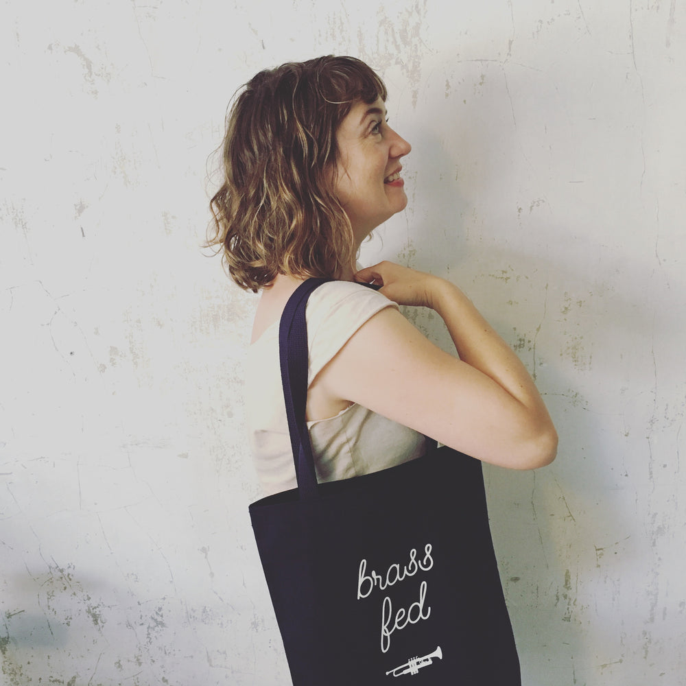 Brass Fed Tote