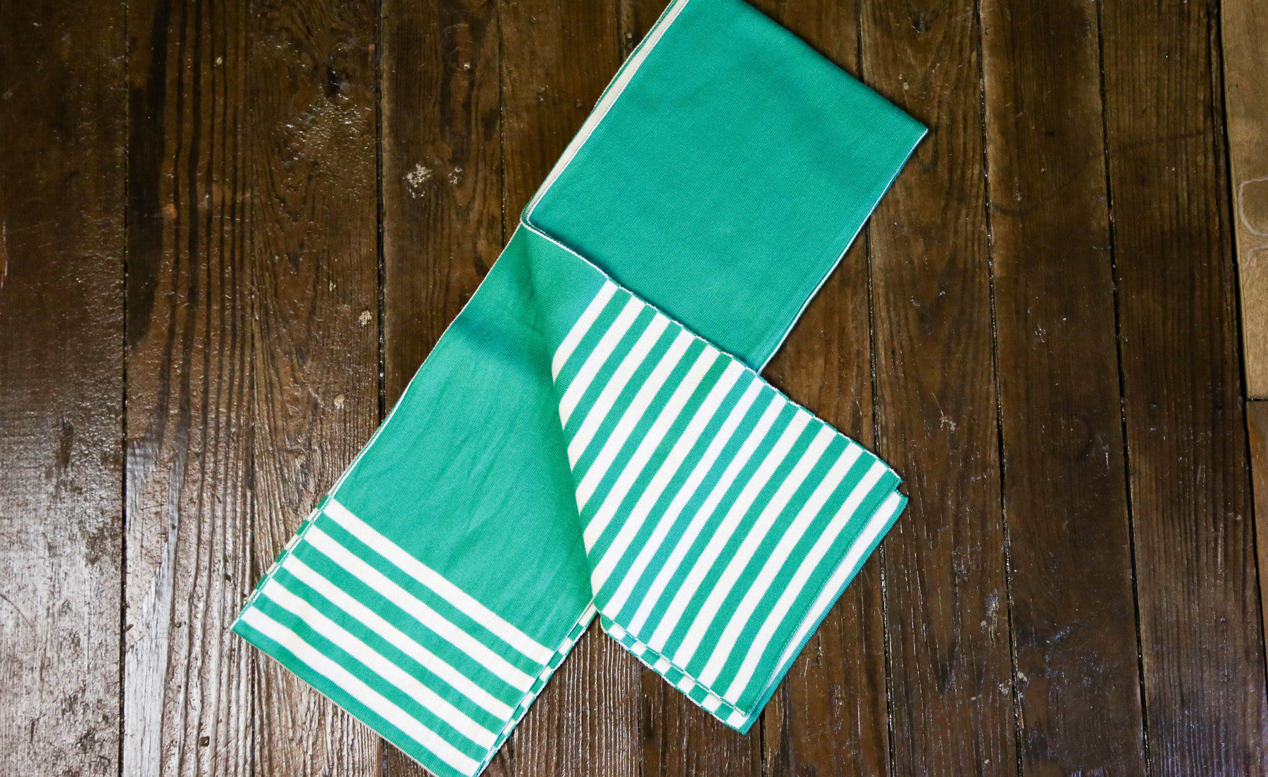 Striped Eco-Scarf