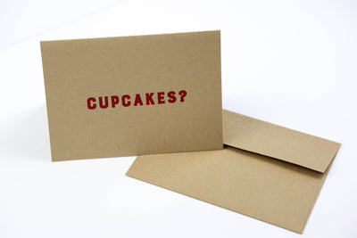 Cupcakes? - Greeting Card