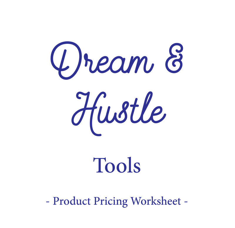 Product Pricing Worksheet