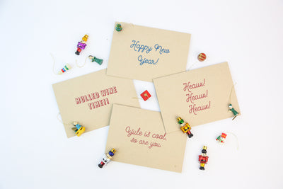 Happy New Year - Holiday Cards