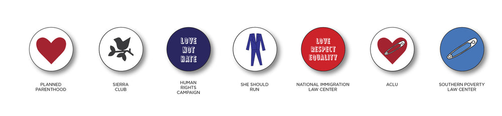Buttons for Equality