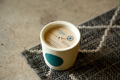 YEP Candle, in collaboration with Masterman Ceramics, Vetiver Scent