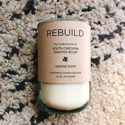 Rebuild, South Carolina Disaster Relief / Jasmine Scent: Candles for Good
