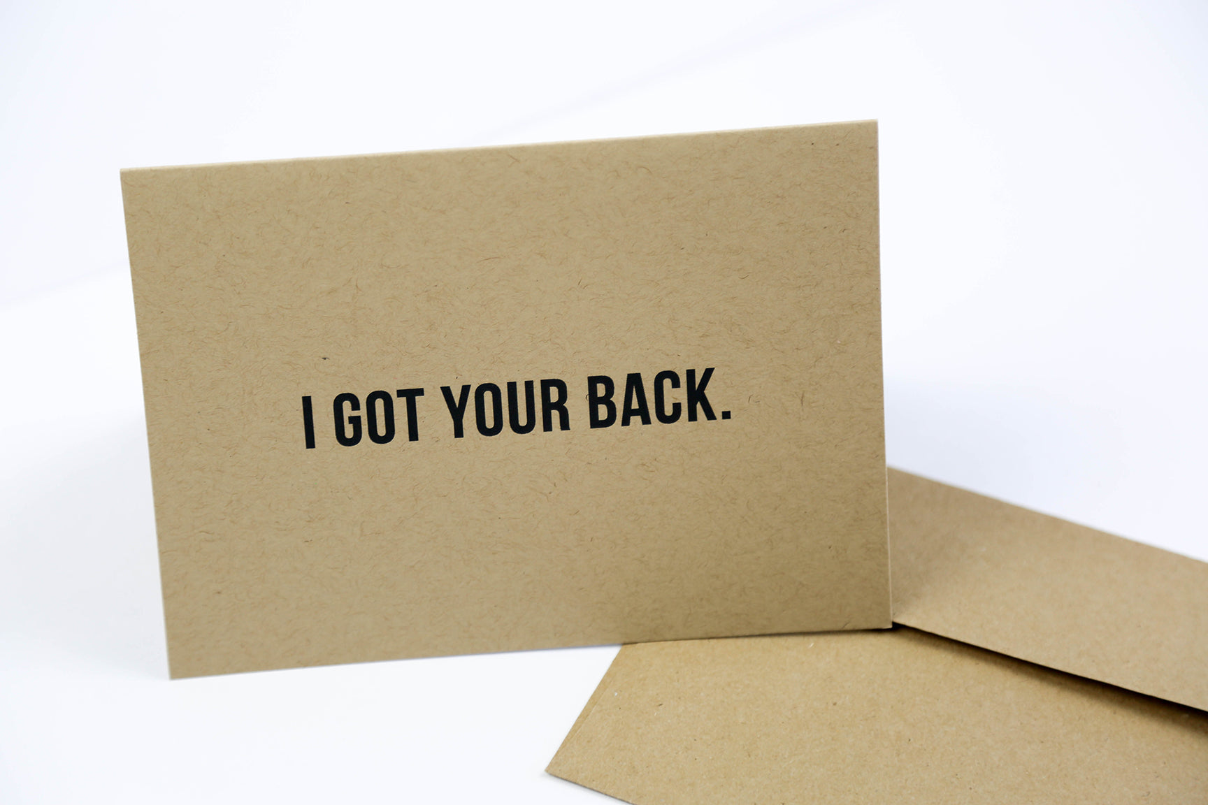 I got your back - Greeting Card