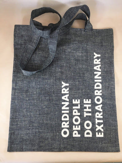 Ordinary People Do The Extraordinary Shoulder Bag