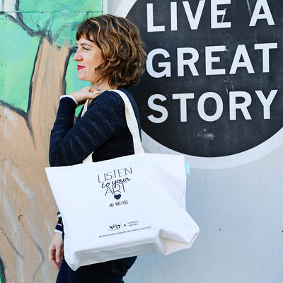 Art Matters Totes & Sketchbooks