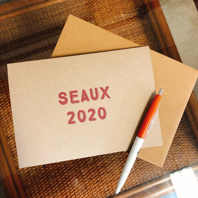 Seaux 2020 - Greeting Cards