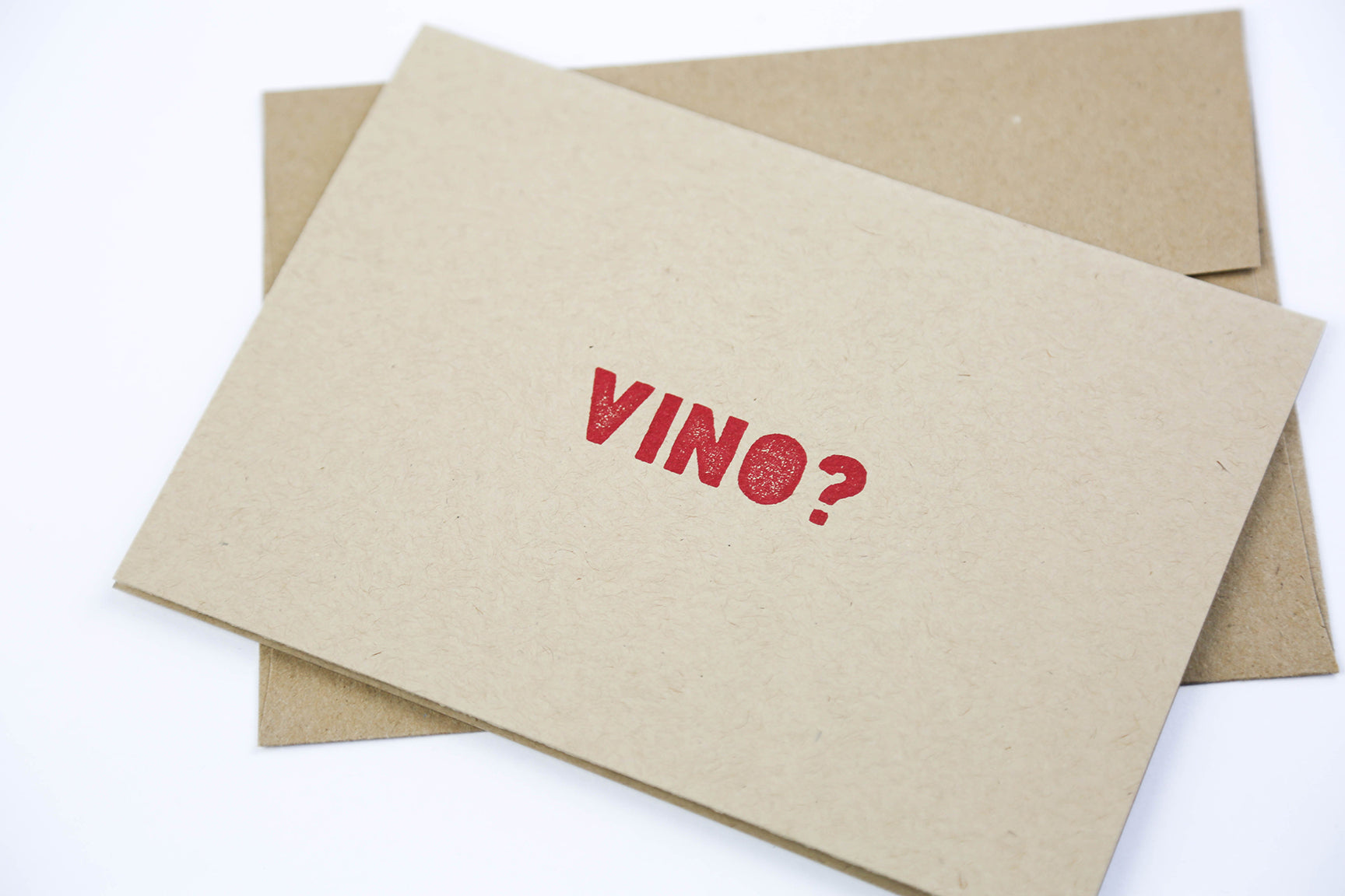 Vino? - Greeting Card